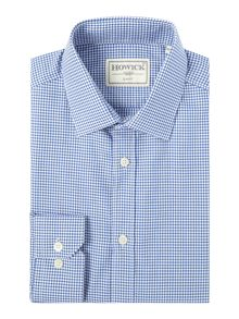 Howick Tailored Harbour gingham shirt