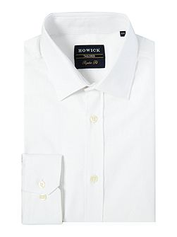 Storrow textured dobby spot shirt