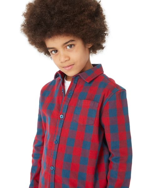 Howick Junior Boys Brushed Check Shirt