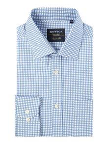 Howick Tailored Brookline gingham twill shirt