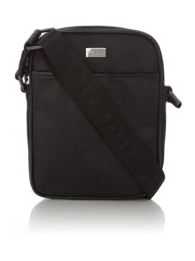 Ted Baker Hick Contrast Trim Nylon Flight Bag