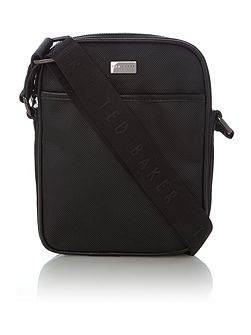 Hick Contrast Trim Nylon Flight Bag
