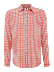 PS By Paul Smith Tailored long sleeve check shirt