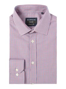 Howick Tailored Kedron puppytooth shirt