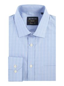 Howick Tailored Ashland prince of wales check shirt