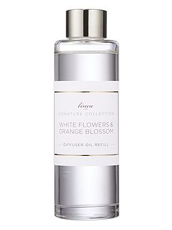 White flowers & orange blossom refill oil