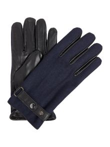 Linea Melton Leather Glove
