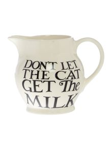 Emma Bridgewater Black Toast All Over 1/2 Pint Jug