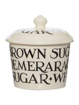 Emma Bridgewater Black Toast Sugar Pot