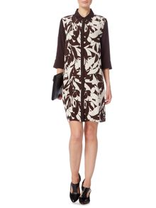Linea Limited printed silk dress