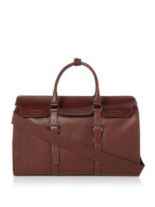 Ted Baker Victory Pebble Grain Leather Holdall