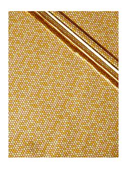 Gold sequins 3m wrapping paper