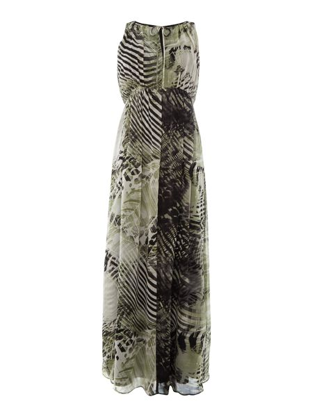 Episode Sleeveless printed maxi dress