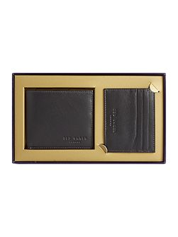 Giftwo Card Holder And Wallet Set