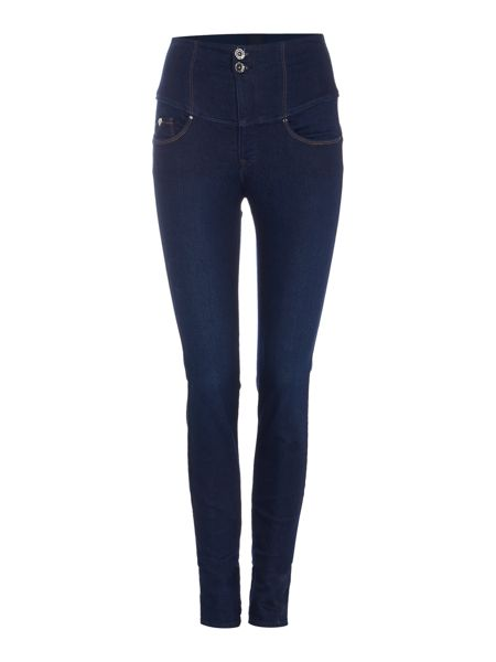 Salsa Diva slimming skinny jean in denim rinse