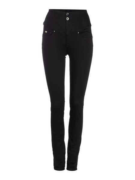 Salsa Diva slimming skinny jean in black