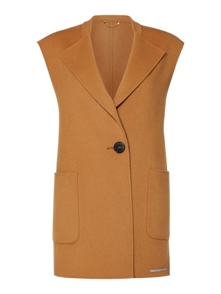 Marella Ronald sleeveless cashmere wool gilet