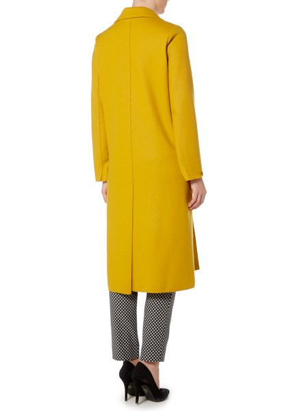 Marella Robert double face wool longline coat