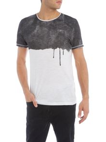 Only & Sons Sky Paint Graphic Crew Neck T-shirt