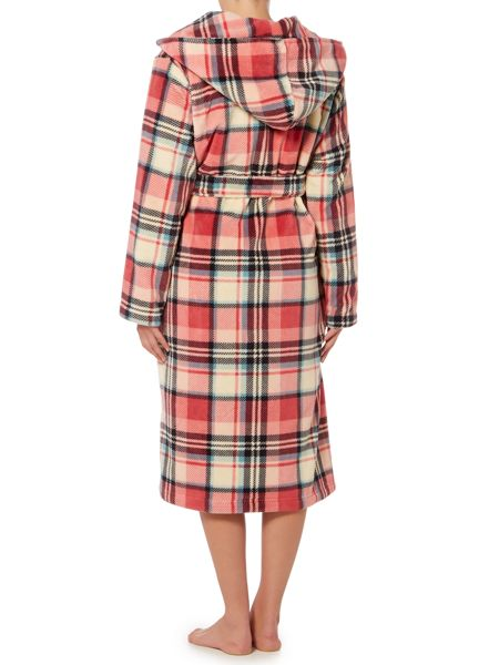 Dickins & Jones Eloise Check Robe