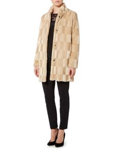 Marella Tebe faux fur coat