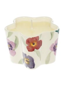 Emma Bridgewater Wallflower Flower Candle