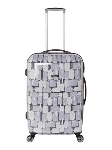 Linea Explore 8 wheel hard medium suitcase