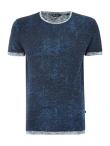 Only & Sons Marl Detail Crew Neck Short Sleeve T-shirt