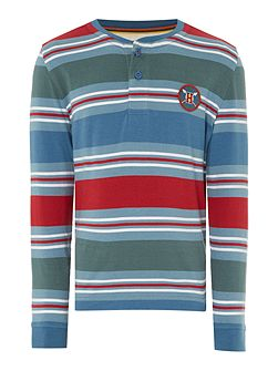Boys Multistripe Henley t-shirt