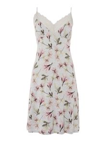 Linea Floral X Ray Print Chemise