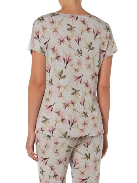 Linea Floral X Ray Top