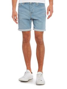 Only & Sons Loom Denim Shorts