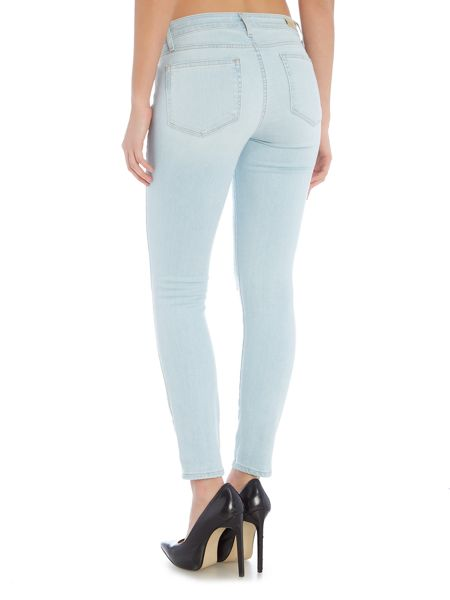 Paige Verdugo ankle skinny jean in lainey destructed