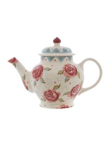 Emma Bridgewater Rose & Bee 2 Cup Teapot Boxed