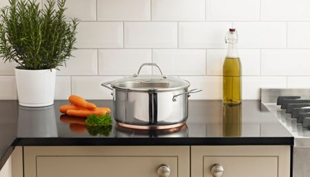 Linea Radiance stockpot with lid 24cm