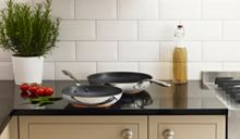 Linea Radiance two piece frying pan set