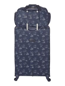 Dickins & Jones Voyage navy duffle bag