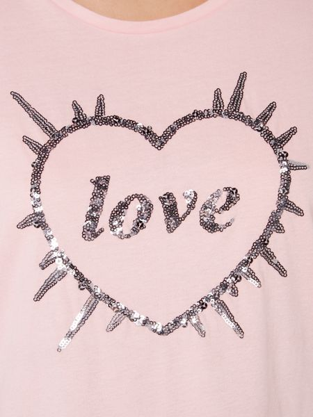 Therapy Love Heart Sequin PJ Set