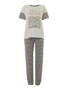 Therapy Cat Nap PJ Set