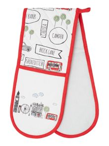 Linea London double oven glove