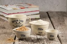 Mason Cash VARISTY Set of 4 MEASURING CUPS