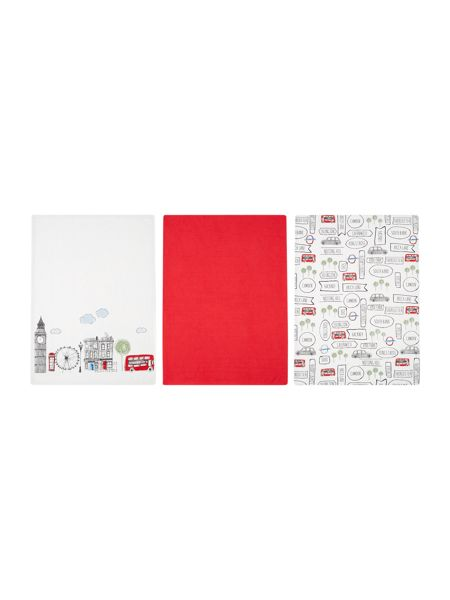 Linea London set of 3 tea towels