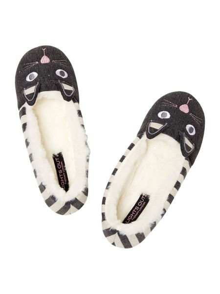 Therapy Stripe Cat Slipper