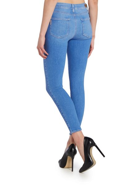 Paige Hoxton mid rise ankle skinny jean