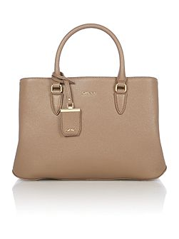 Chelsea taupe large tote bag