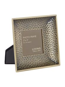 Living by Christiane Lemieux Textured Metal frame 3x3