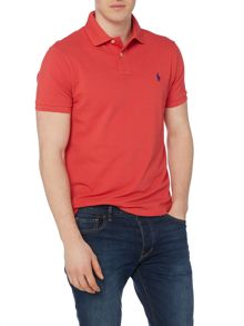 Polo Ralph Lauren Basic mesh slim fit short sleeve polo
