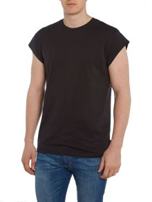 Only & Sons Long Line Crew Neck T-shirt