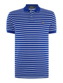 Polo Ralph Lauren Pima soft touch stripe custom fit polo