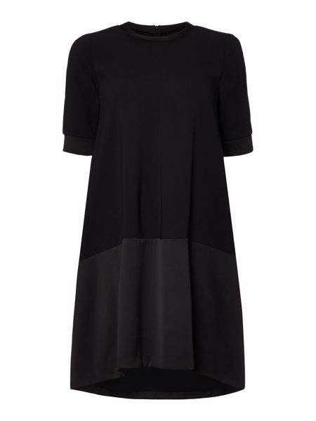 Marella Fresia 1/2 sleeve woven mix dress